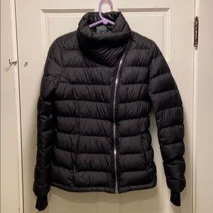Athleta Black Downabout Jacket